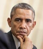 barack obama团结的总统状态 图库摄影