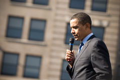 Barack Obama 10 Royalty Free Stock Photo
