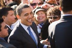 Barack Obama 16 Fotografie Stock Libere da Diritti
