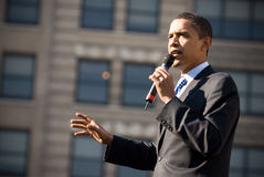 Barack Obama 17 Immagini Stock Libere da Diritti