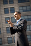 Barack Obama 19 Royalty Free Stock Image