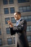 Barack Obama 19 Imagen de archivo libre de regalías