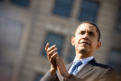 Barack Obama 2 Fotografie Stock