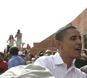 Barack Obama 3350 Photo libre de droits