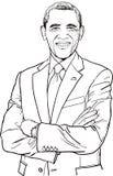 Barack Obama Lizenzfreies Stockfoto