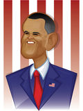 Barack Obama royalty illustrazione gratis