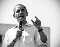 barack obama Στοκ Φωτογραφίες