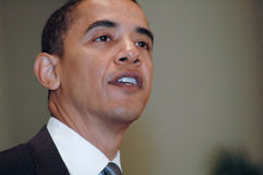 Barack Obama Fotografia Stock