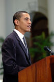 Barack Obama Fotografia Stock Libera da Diritti