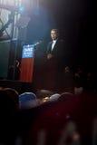 Barack Obama bei Virginia Beach Lizenzfreies Stockbild