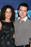 Christian Campbell,Neve Campbell Stock Photo