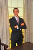 Barack Obama, de voorzitter van de V.S., bij Mevrouw Tussaud's Stock Foto