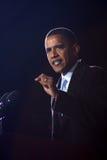 Barack Obama en Virginia Beach Imagen de archivo