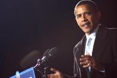Barack Obama en Virginia Beach Fotografía de archivo libre de regalías