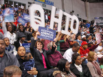 Barack Obama Ohio 3 Stock Photos