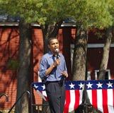 Barack Obama at Peterborough Stock Images