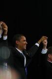 Barack Obama rally Stock Image