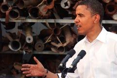 Barack Obama Reassures säkerheten av Israel Royaltyfria Foton