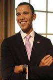 Barack Obama (Wachsfigur) lizenzfreies stockbild