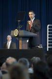 barack sala Obama obcojęzyczny miasteczko Zdjęcia Stock