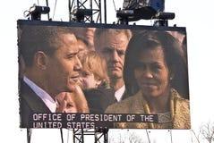 Barack y Micaela Obama Imágenes de archivo libres de regalías