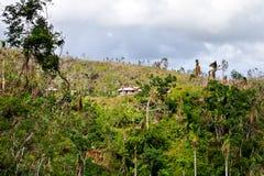 Baracoa, Cuba: paesaggio naturale Immagine Stock