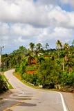 Baracoa, Cuba: paesaggio naturale Fotografia Stock Libera da Diritti