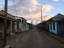 Baracoa street view royalty free stock photo
