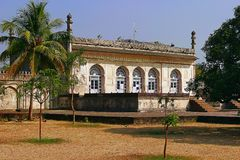 Baradari, Bibi-Ka-Maqbara, Aurangabad, Индия Стоковое Изображение