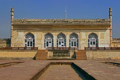 Baradari, Bibi-ka-Maqbara, Aurangabad, Inde Images stock