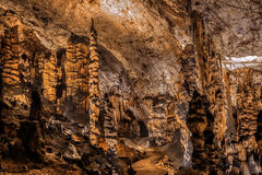 Baradle Cave in Aggtelek National Park in Hungury Royalty Free Stock Photo