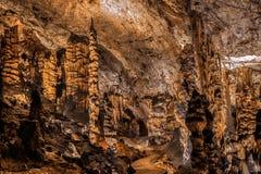 Baradle grotta i den Aggtelek nationalparken i Hungury Royaltyfri Foto
