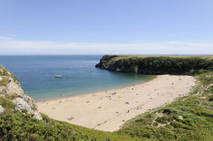 Barafundle Bay stock photography
