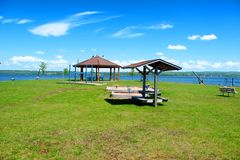 Baraga County Michigan Park Royalty Free Stock Photos