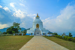 Barahi tempel i Nepal Arkivfoto