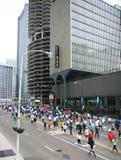 Barajadura del trébol de Chicago 8K Fotos de archivo libres de regalías