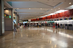 Barajas Μαδρίτη Στοκ εικόνα με δικαίωμα ελεύθερης χρήσης