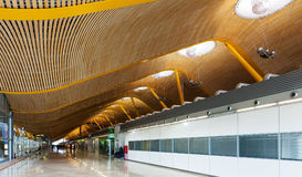 Barajas Airport, Interior of Terminal 4 Royalty Free Stock Photos