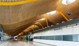 Barajas Airport, Interior of Terminal 4 Royalty Free Stock Photos