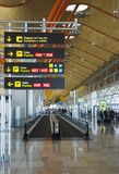 Barajas Airport - Madrid, Spain Stock Images