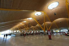 Barajas Airport Madrid Stock Photography