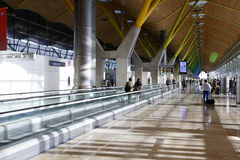 Barajas flygplats royaltyfri bild