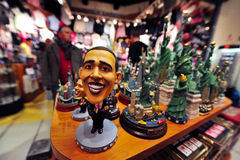 Barak Hussain Obama - 44th president av Förenta staterna Royaltyfri Fotografi