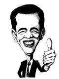 Barak obama Royalty Free Stock Photos