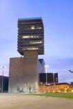 BARAKALDO BASKISKT LAND, SPANIEN, MARS 01, 2016: Den Bilbao utställningen Arkivbilder