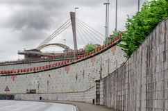 Barakaldo infrastructure Royalty Free Stock Photos