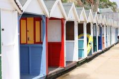baraki plażowych Obrazy Royalty Free