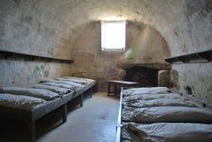 Barakken bij Oud fort, St Augustine Royalty-vrije Stock Foto