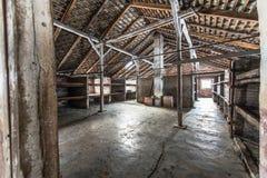 barakken van Bi van Auschwitz van het Naziconcentratiekamp Stock Fotografie
