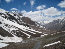 Baralacha Pass in the Himalayas Royalty Free Stock Image